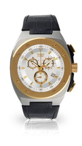 DETOMASO Часы-хронограф »COMO SILVER GOLD...