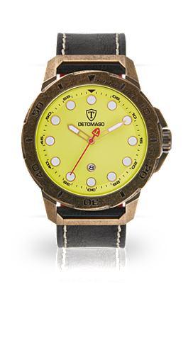 DETOMASO Часы »USTICO ANTIQUE YELLOW&laqu...