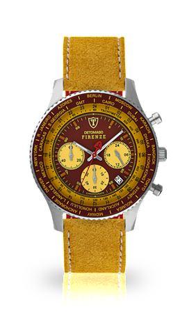 DETOMASO Часы-хронограф »FIRENZE SILVER R...