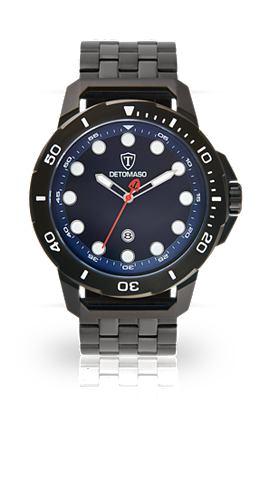 DETOMASO Часы »USTICO BLACK BLUE«