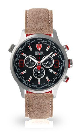 DETOMASO Часы-хронограф »AURINO SILVER BL...