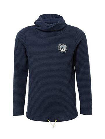 Пуловер с воротником-стойкой Футболка ...