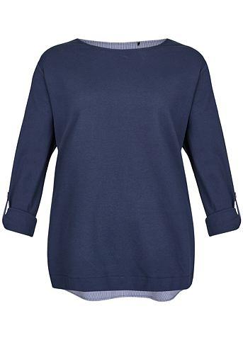 VIA APPIA DUE Модный пуловер в 2-in-1-Design