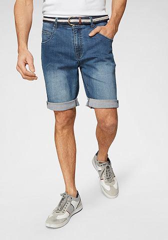 Шорты джинсовые (Набор с ремень)