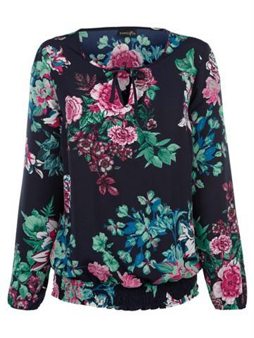 DRESS IN Платье в туника с цветочный узор