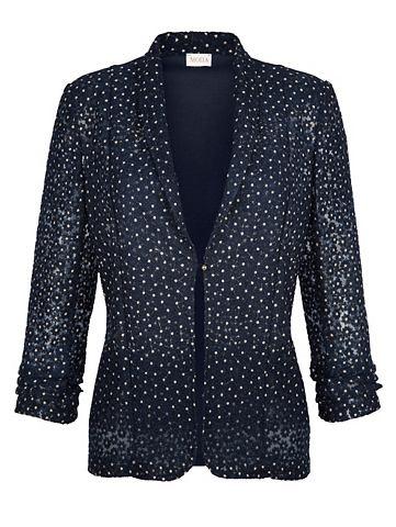 Рубашка-куртка с цветочный окантовка