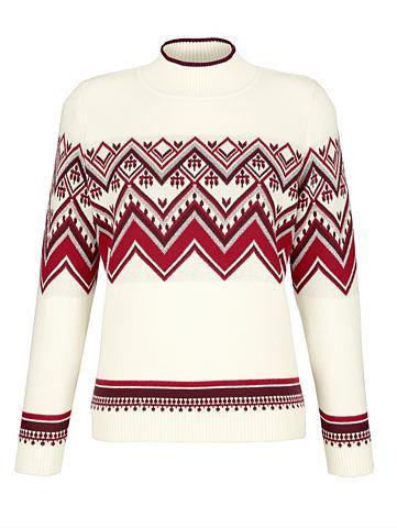 MONA Пуловер с Norweger-Muster