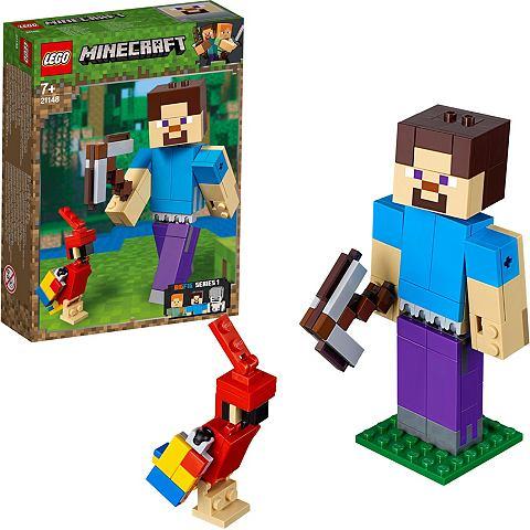 LEGO ® Minecraft?-Big Fig Steve с Papag...