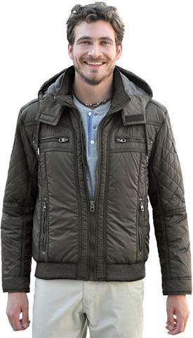 Куртка с сдержанный с узором