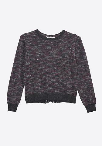 Пуловер с красивый 3/4-Reißversc...