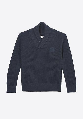 Пуловер с modernem воротник