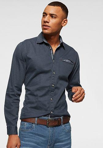EDC BY ESPRIT Рубашка с длинными рукавами