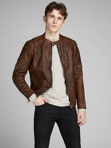JACK & JONES Jack & Jones Biker- куртка кожаная...