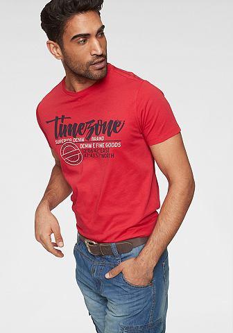 TIMEZONE Блуза с круглым вырезом