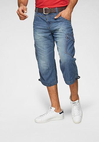 TIMEZONE 3/4 джинсы