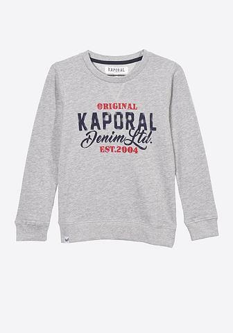 Пуловер с coolem Marken-Schriftzug