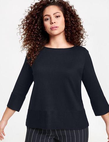 SAMOON Пуловер 3/4 рукава с круглым вырезом &...