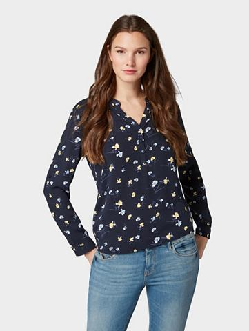TOM TAILOR Блузка-футболка Блузка с цветочный Mus...