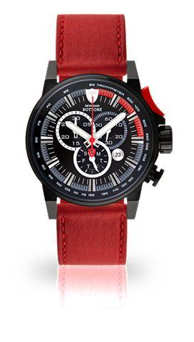 DETOMASO Часы-хронограф »BOTTONE BLACK BL...