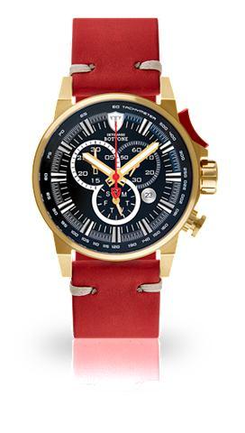DETOMASO Часы-хронограф »BOTTONE GOLD BLA...