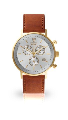 DETOMASO Часы-хронограф »MILANO GOLD WHIT...