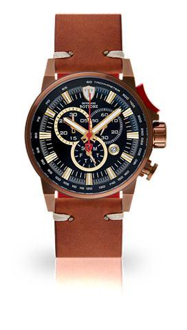 DETOMASO Часы-хронограф »BOTTONE BROWN BL...