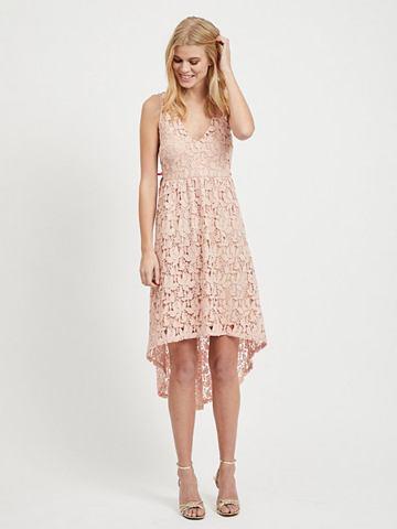 VILA Spitzen платье миди-длины