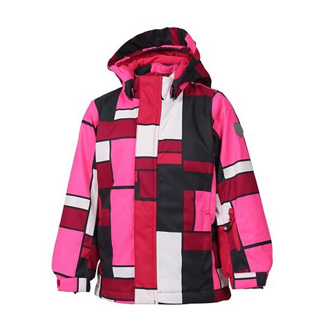 Куртка зимняя в красочный Design