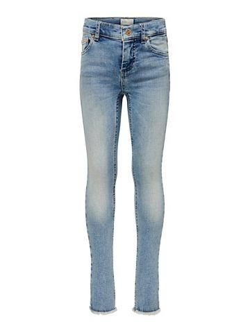 KIDS Blush облегающий форма джинсы