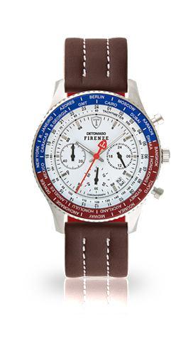 Часы »FIRENZE SILVER WHITE GMT&l...