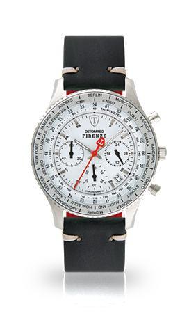 DETOMASO Часы-хронограф »FIRENZE SILVER W...
