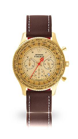 DETOMASO Часы-хронограф »FIRENZE GOLD GOL...