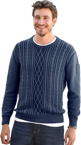 MARCO DONATI Пуловер с Jeans-Charakter