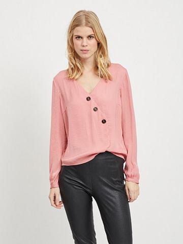 VILA Schlichte блузка с длинным рукавом