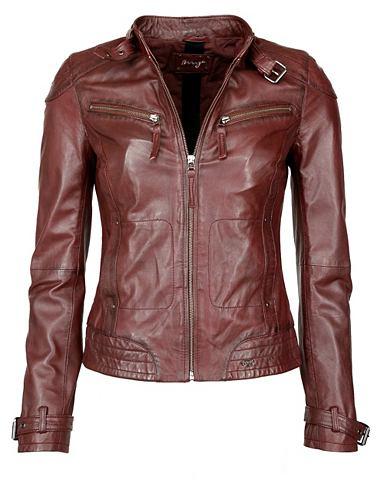 MAZE Куртка кожаная с два Brusttaschen &raq...