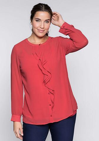 Sheego блузка с длинным рукавом