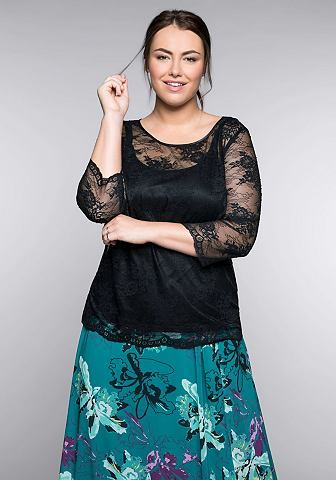 Sheego кружевная блуза