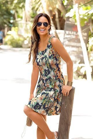 LASCANA Платье пляжное с tiefem вырез