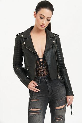 TRUEPRODIGY Куртка кожаная »Jade«