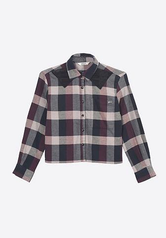Блузка в Karo-Muster