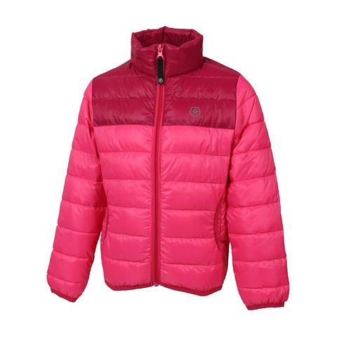 Куртка стеганая с warmem воротник стой...