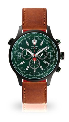 DETOMASO Часы-хронограф »AURINO BLACK гон...