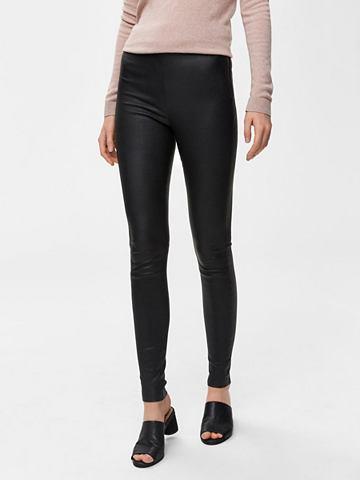 SELECTED FEMME Dehnbare Lamm- брюки кожаные