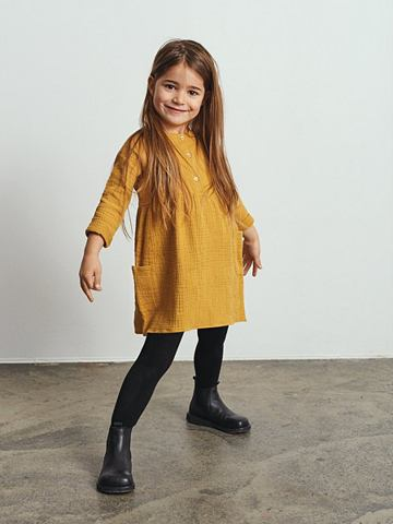 Baumwollkrepp платье