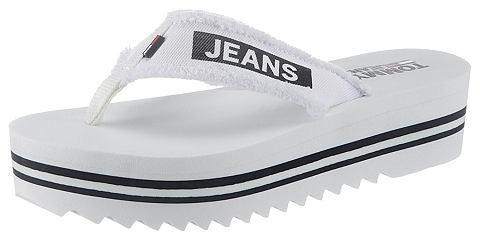 TOMMY джинсы шлепанцы вьетнамки »...