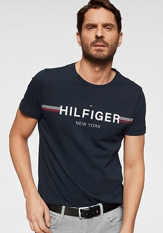 TOMMY HILFIGER Футболка »CORP FLAG TEE«