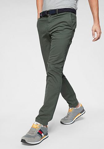 TOMMY HILFIGER Брюки »DENTON брюки узкие BELT&l...