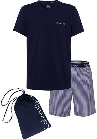 Calvin KLEIN короткий пижама с в полос...