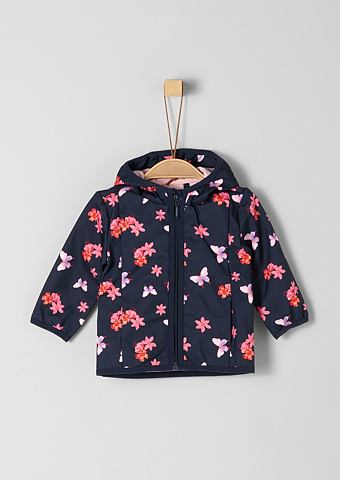 S.OLIVER RED LABEL JUNIOR Куртка с теплой подкладкой с c цветочн...