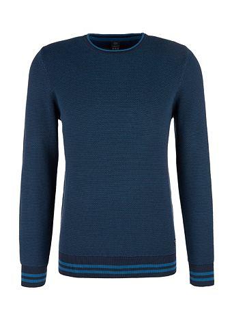 S.OLIVER RED LABEL Tall Size: пуловер с Struktur